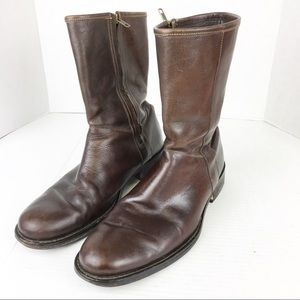 SZ 11 Brown Leather Cole Haan Boots